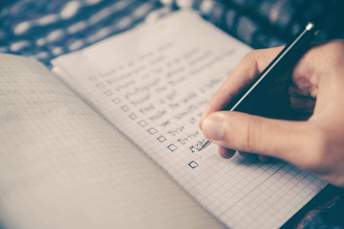 Marriage Celebrant Checklist