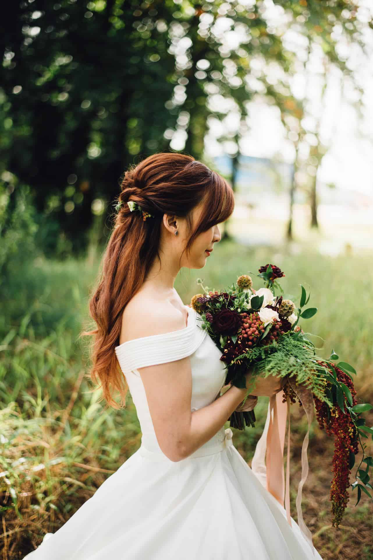 20 of the Best Hairstyles for the Wedding- Goer