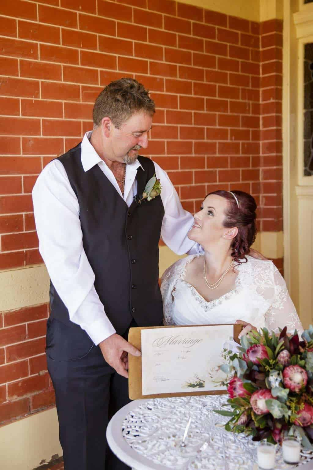 Melissa & Timothy   Real Weddings Victoria