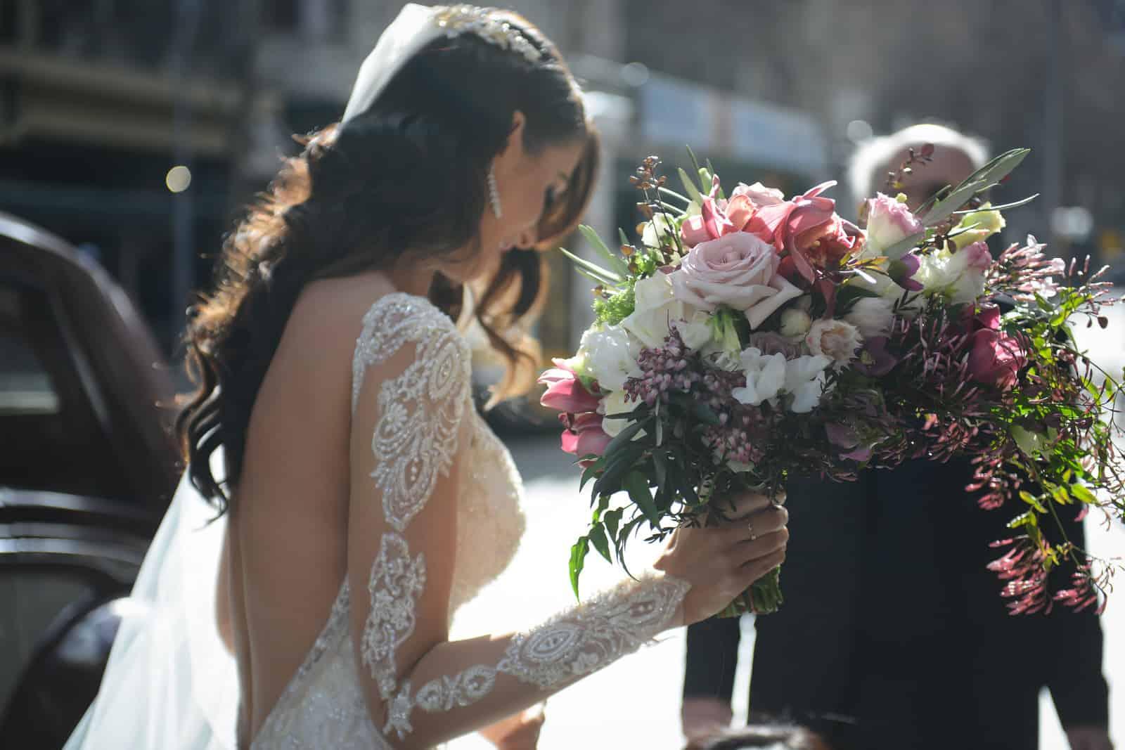 Emily Simms Melbourne Wedding Photos Bouquet
