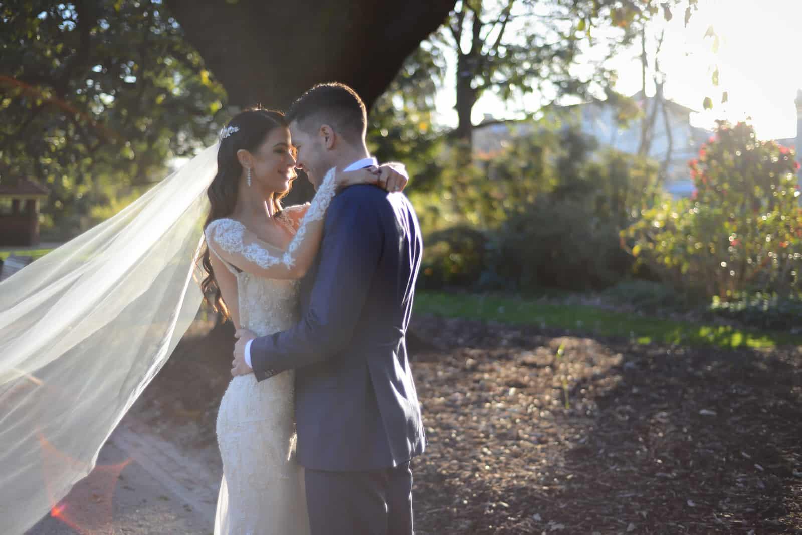 Emily Simms Melbourne Wedding Gardens
