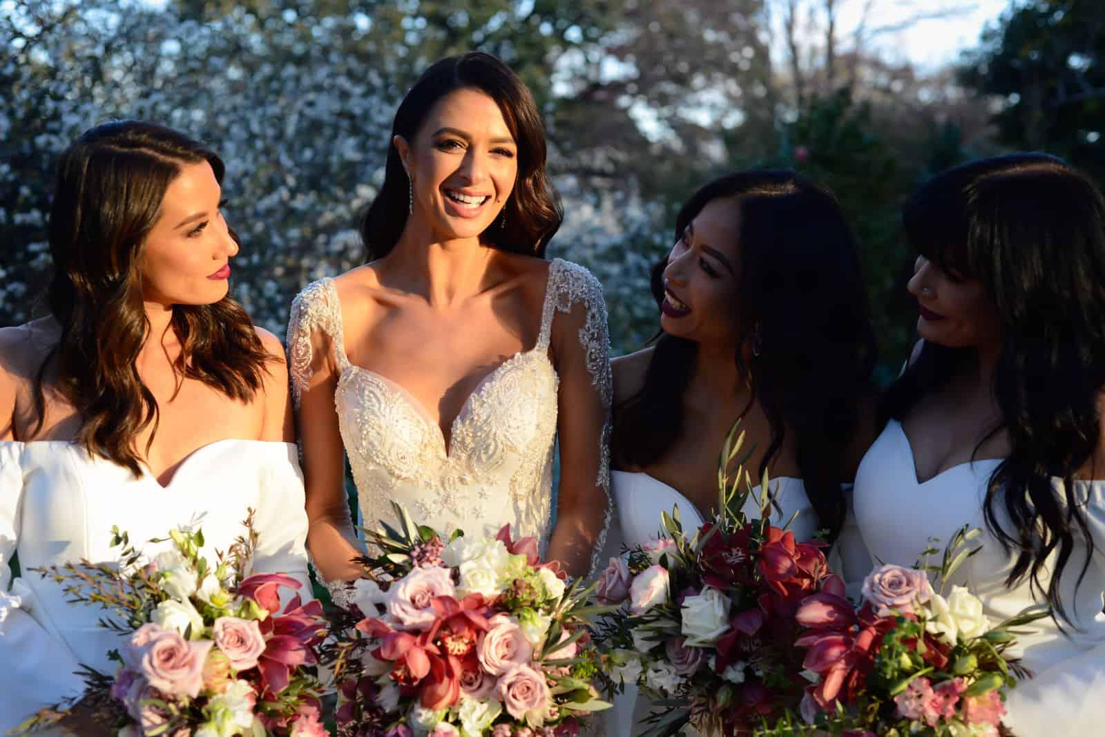 Emily Simms Melbourne Wedding Flowers | Bridesmaids