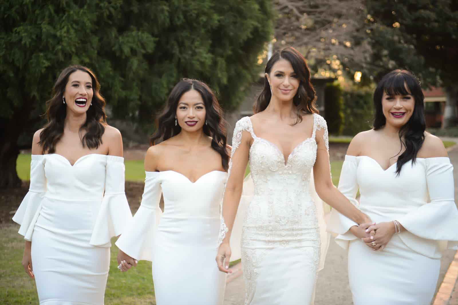 Ex Bachelor Contestant Emily Simms Melbourne Wedding Photos!
