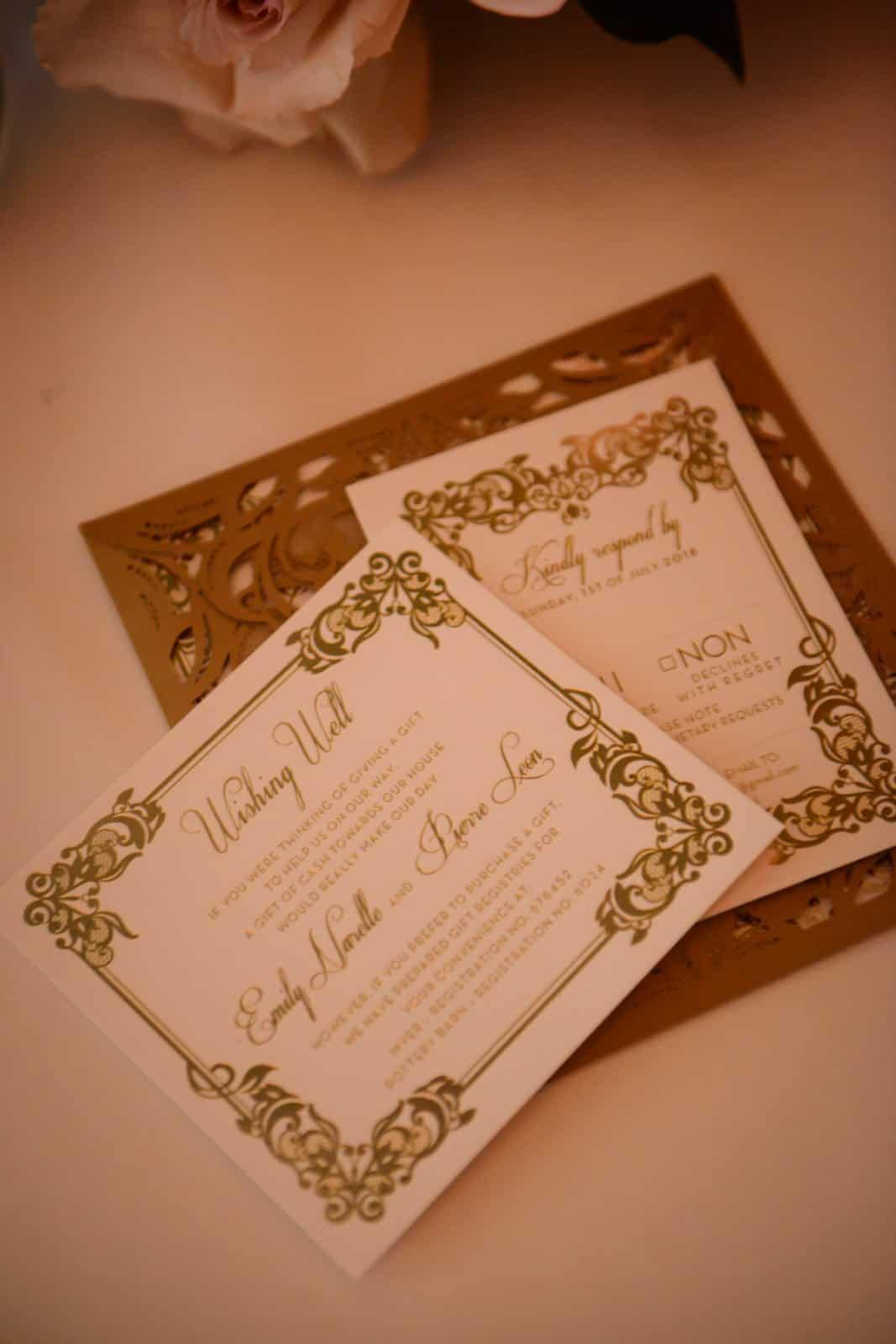 Emily Simms Melbourne Wedding Cards @ The George Ballrooom