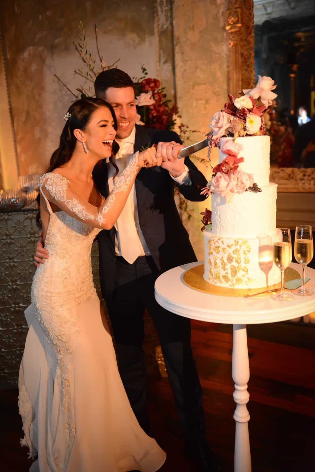 Emily Simms Melbourne Wedding Cake @ The George Ballrooom