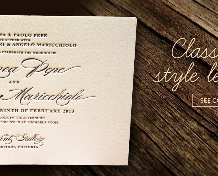 Inspired Design Invitations