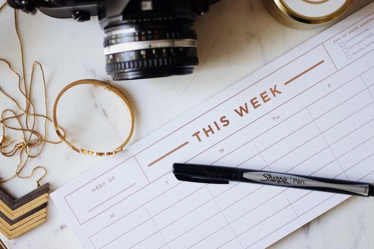 The 10 Things You Must Do the Week Before Your Wedding