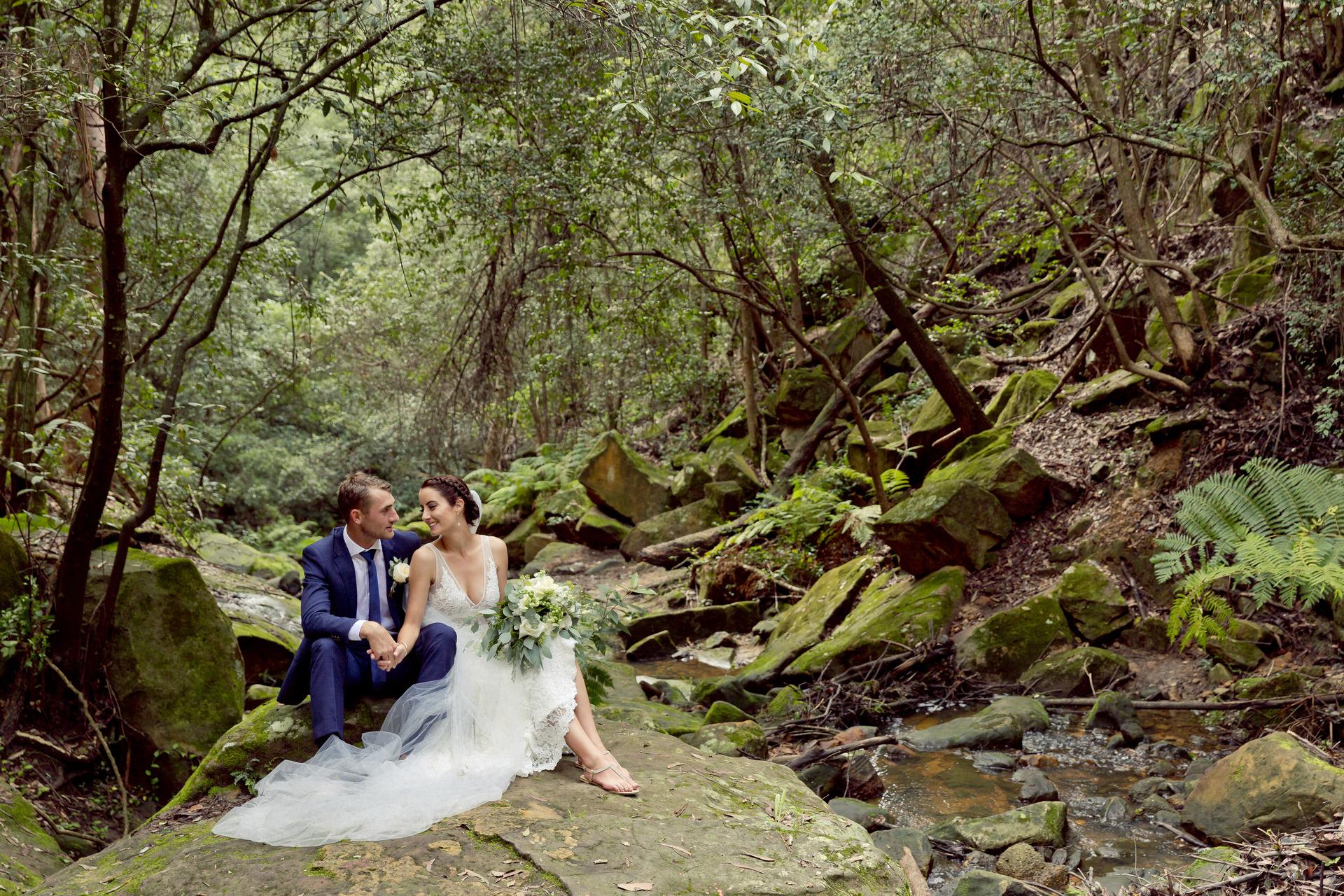 Bride and Groom in Penrith