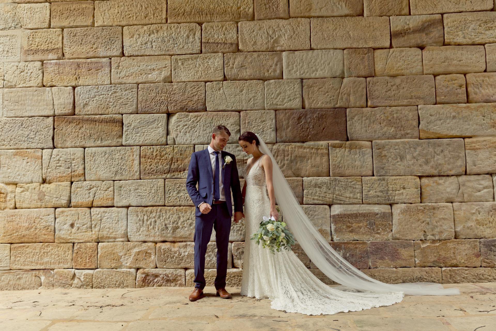 Penrith bride and groom
