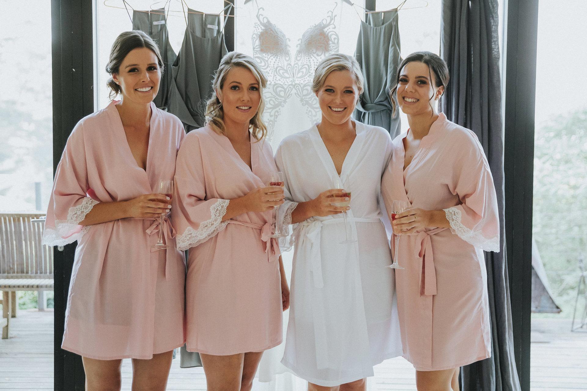 Natasha's bridesmaids