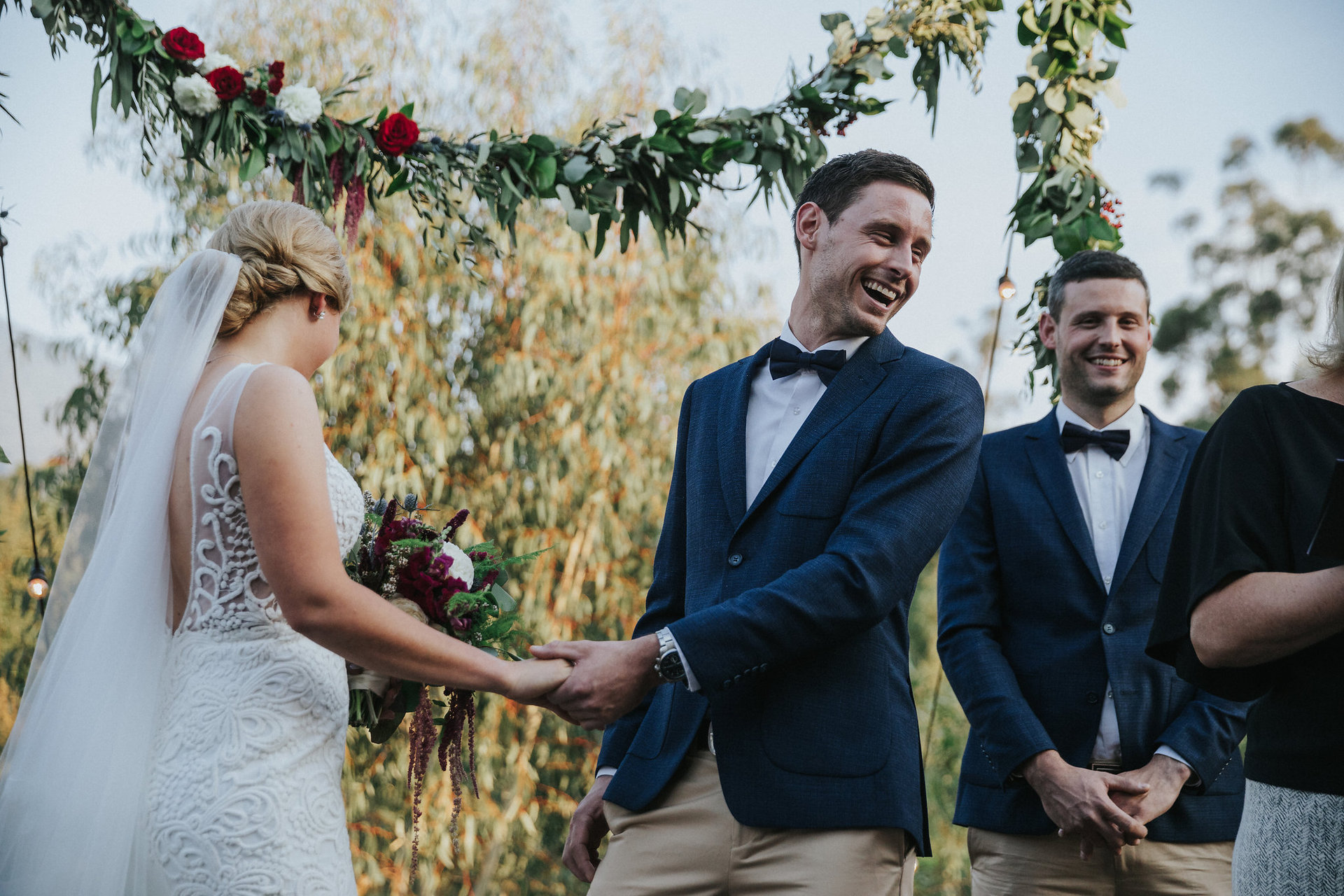 Yarra Valley Wedding Ceremony at Projekt 3488