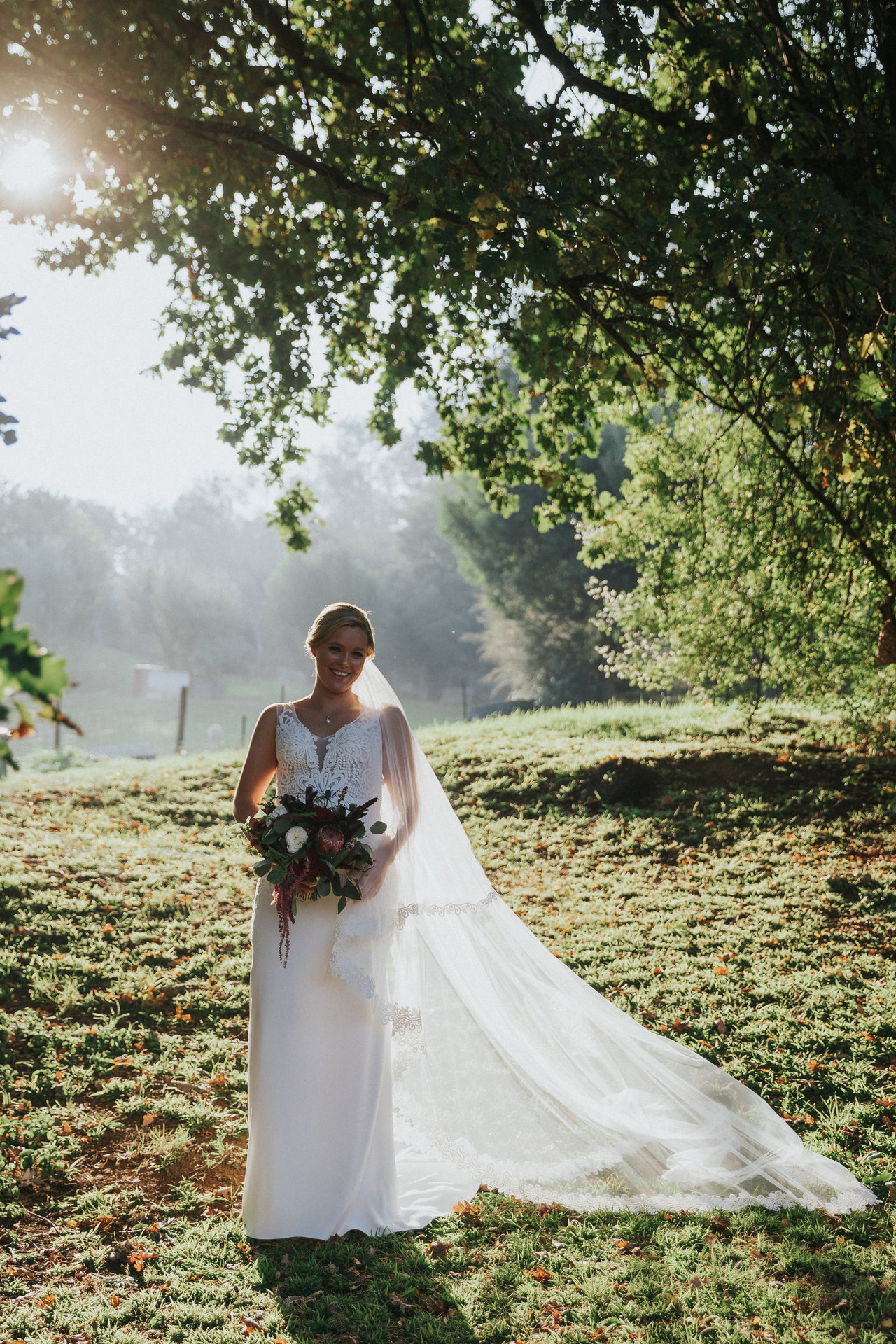 Bridal photography in the Yarra Valley